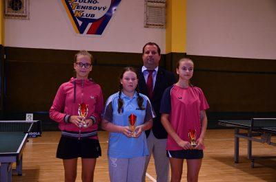 VSPM Vranov dievčatá stupeň víťazov